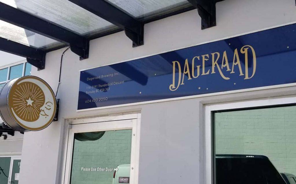 Brewery Feature: Dageraad Brewing (Burnaby, BC)